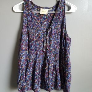 Maeve Anthropologie Small Multi Colored Sleeveless